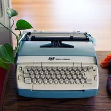 Eine Retro-Schreibmaschine